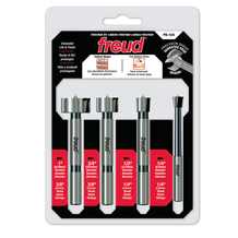 "FREUD - PRECISION SHEAR™ 1/4"" to 1"" 4 Pcs. Forstner Bit Set"