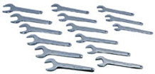 V8 9515 Service Wrench Set (MM), Metric, 15pc