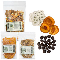 snack foods & dried fruits in bulk