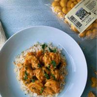 OliveNation coconut curry cashew shrimp