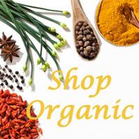 Shop organic ingredients