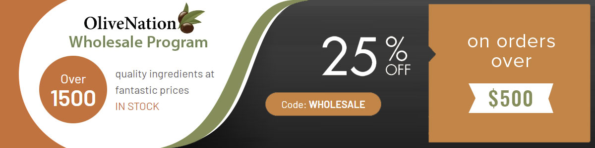 OliveNation Wholesale Discount on Bulk Orders