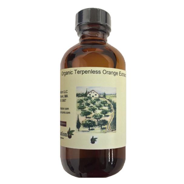 Organic Terpeneless Orange Extract