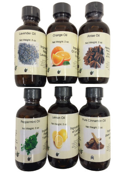 Set of 6 Oils