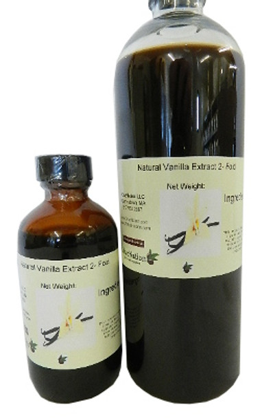 Vanilla Extract Natural 2 x Fold