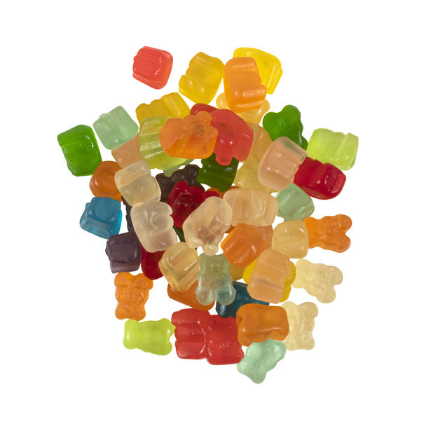 Mini Gummy Bears, Assorted Colors