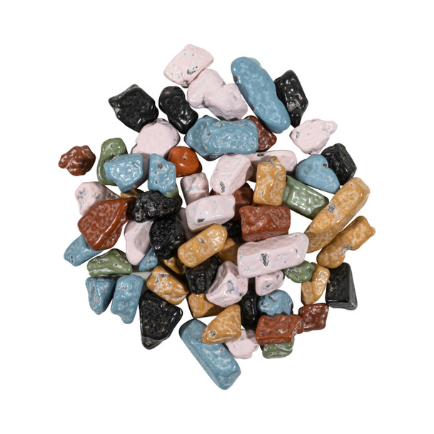 Chocolate Flavored Rocks, Assorted Colors