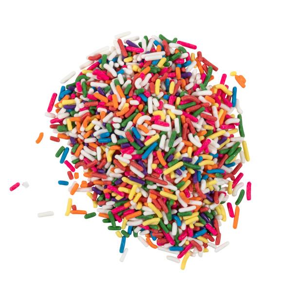 Chocolate-Flavored Rainbow Sprinkles