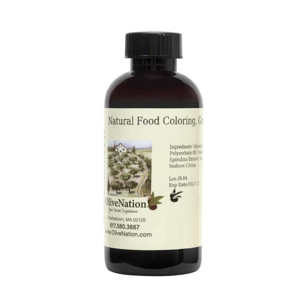 Natural Food Coloring, Green