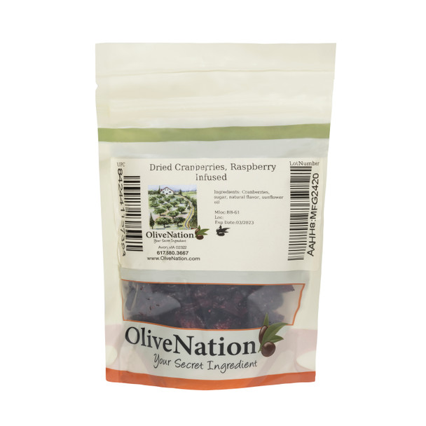 Dried Cranberries, Raspberry Infused
