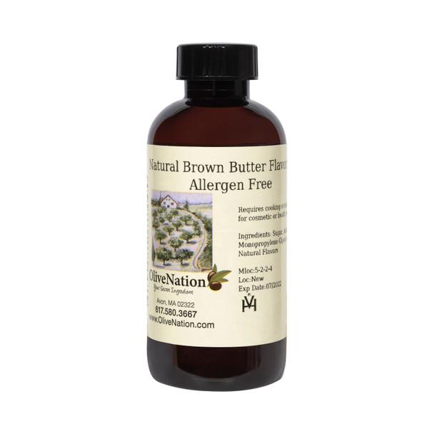 Natural Brown Butter Flavoring, Allergen Free