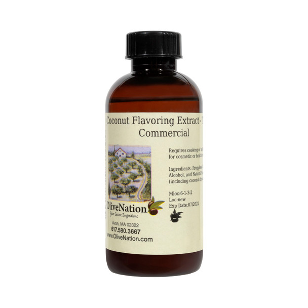 Coconut Flavoring Extract - TTB, Commercial