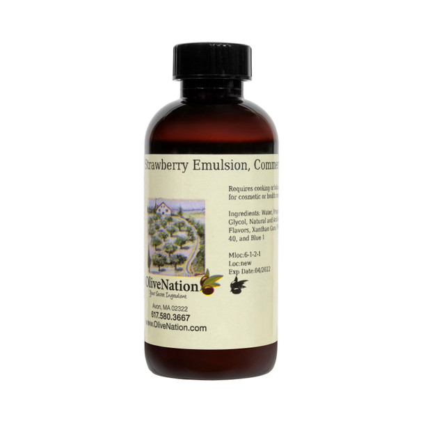 Strawberry Emulsion, Commercial