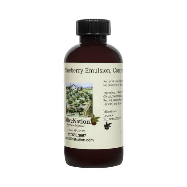 Blueberry Emulsion, Commercial