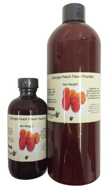 Georgia Peach Flavor Fountain