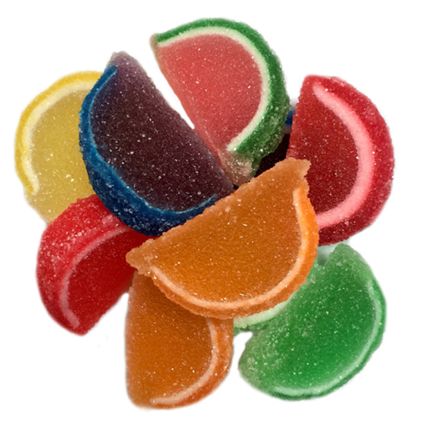 Fruit Jelly Slices, Assorted Mini