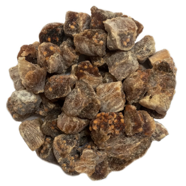 Dried Turkish Figs, Diced in Rice Flour