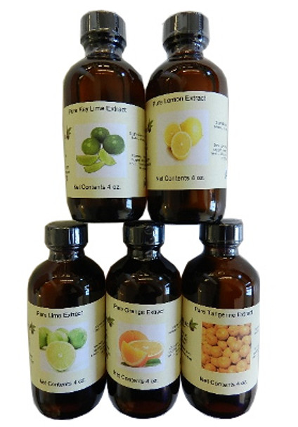 Set of 5 Citrus Extracts
