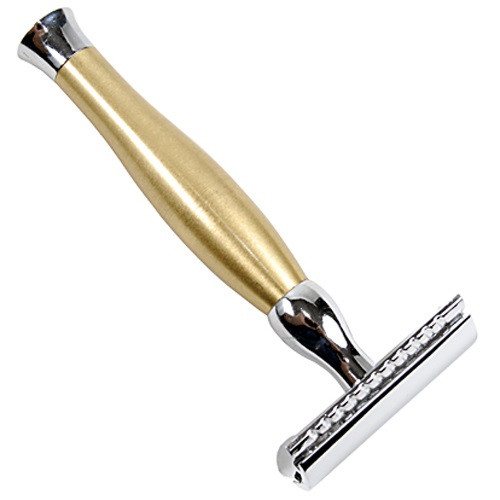 "Parker 48R ""Gold Tone"" Heavyweight Double Edge Safety Razor"