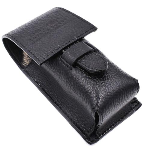 Parker Leather Shaving Brush Case