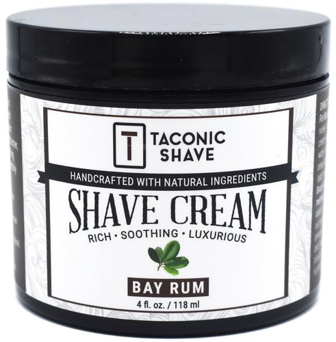 Taconic Bay Rum Artisan Shave Cream