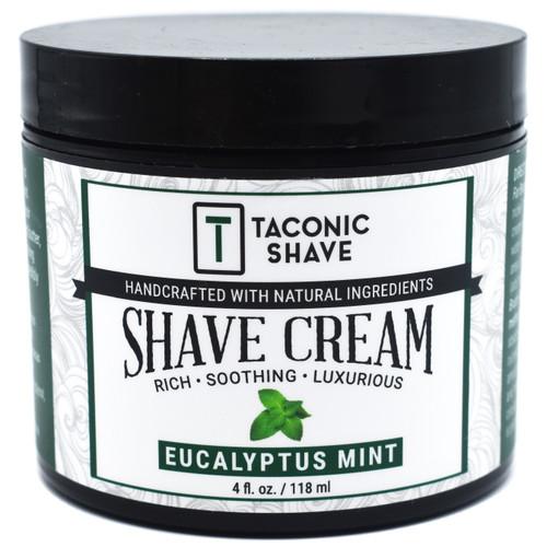 Taconic Eucalyptus and Mint Artisan Shave Cream