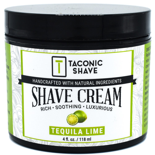 Taconic Tequila Lime Artisan Shave Cream