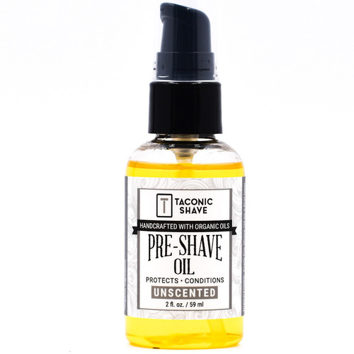Taconic Unscented Organic Pre-Shave Oil