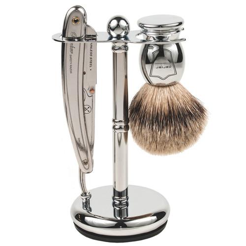 Parker SR1 Straight Razor 3 Piece Shave Set & 100 Blades