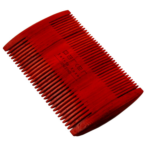 Parker Solid Rosewood Beard Comb - Two Sided