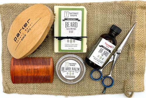 Complete Parker & Taconic Shave Ultimate Beard Care Gift Set