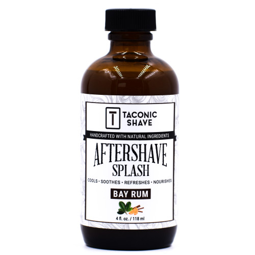 Taconic Bay Rum Botanical Aftershave Splash