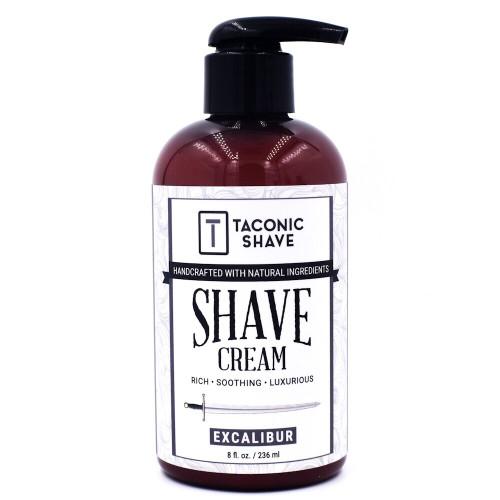 Taconic Excalibur Shave Cream in 8 oz. Pump Bottle