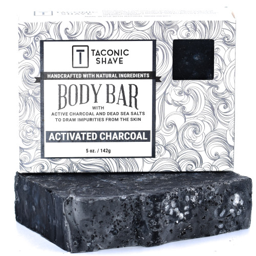 Taconic All Natural Body Cleansing Bar - Activated Charcoal