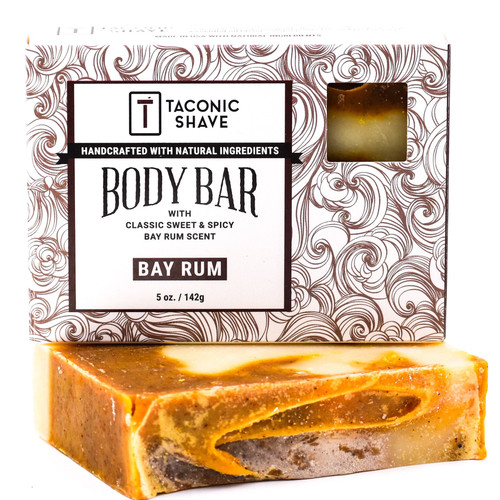 Taconic All Natural Body Cleansing Bar - Bay Rum