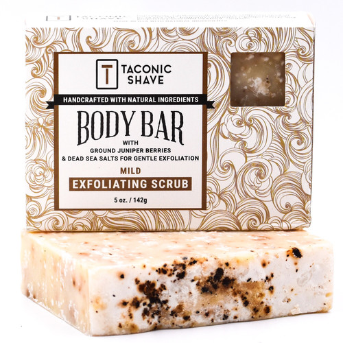 Taconic All Natural Body Cleansing Bar - Exfoliating Scrub