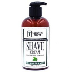 Taconic's Eucalyptus Mint Pump Shave Cream  - Best Brushless Shave Cream in SPY's Top List