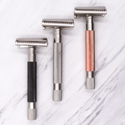 As seen in Men's Journal Parker's Semi-Slant Safety Razors one of The Best (and Most Innovative) Razors for a Close, Safe Shave