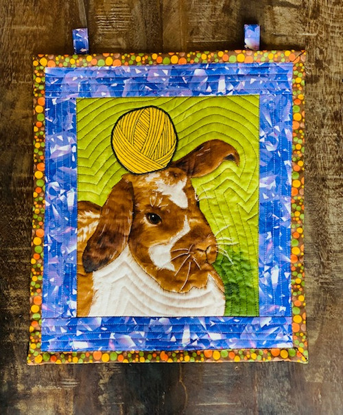 G9s Designs Some Bunny Loves Yarn Tapestry
