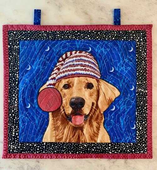 G9s Designs Golden Retriever Tapestry