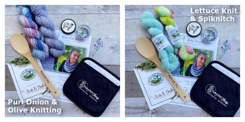 Purl Onion ~ Knit & Nosh Yarn Club Box 3