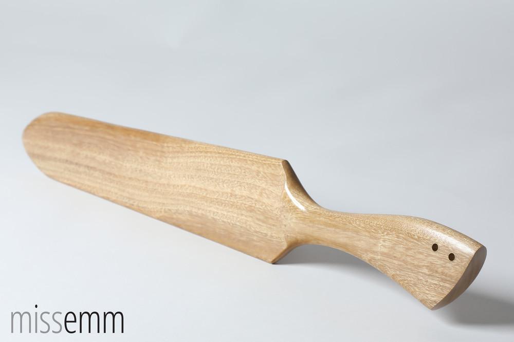 Camphor Laurel light weight spanking paddle