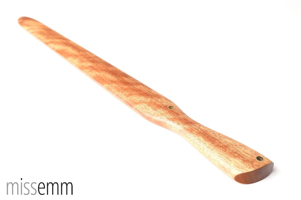 Wood BDSM Spanking Paddle in Pacific Maple