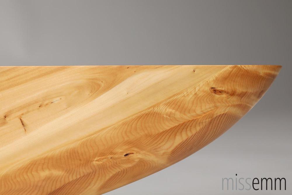 BDSM Wood Spanking paddle - Huon Pine - Knife Shape