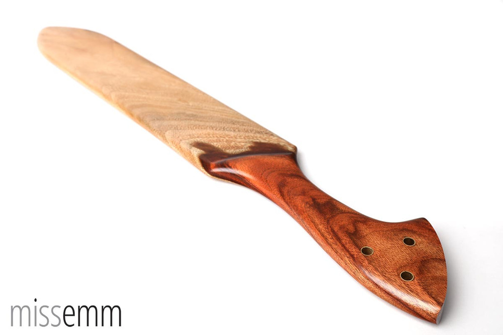 Wood BDSM Spanking Paddle | Camphor Laurel