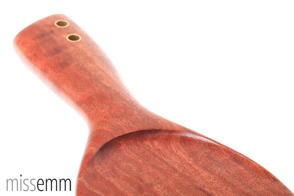 Kinky Spanking Paddle | River Red Gum | by Australian fetish artisan Miss Emm