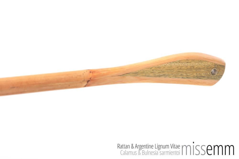 BDSM Discipline Cane | Rattan & Argentine Lignum Vitae | by kink artisan Miss Emm