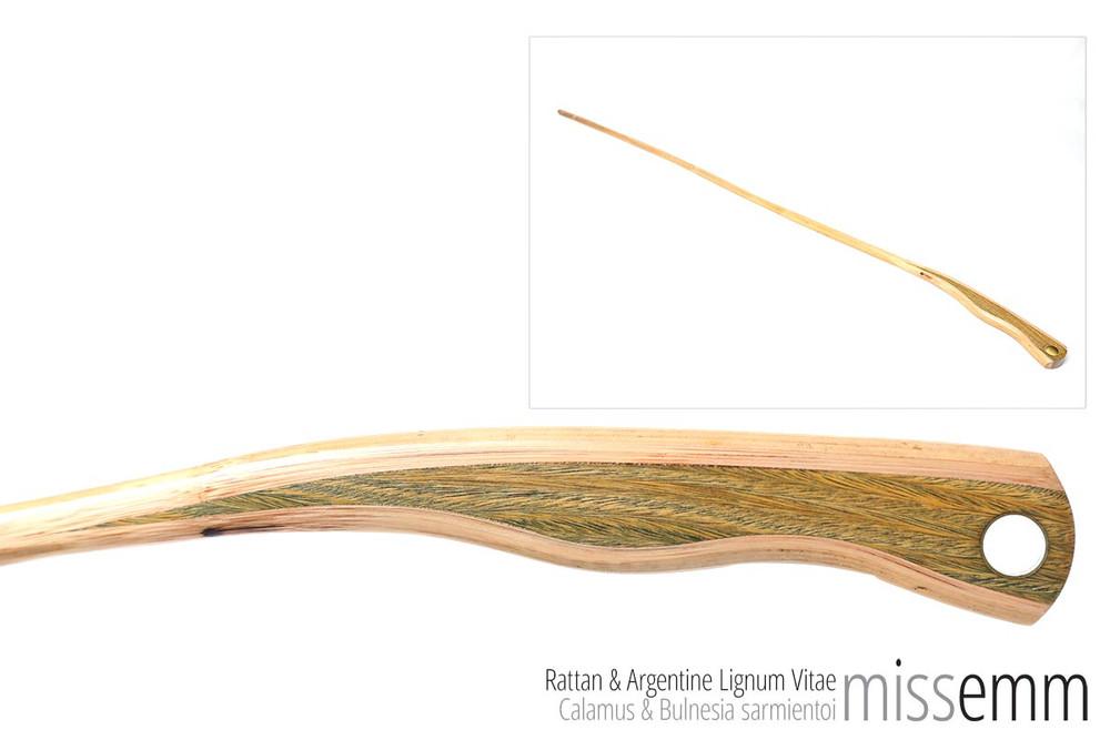 Handmade Kink Toys | Rattan & Arg. Lignum Vitae | by Sydney kink artisan MissEmm