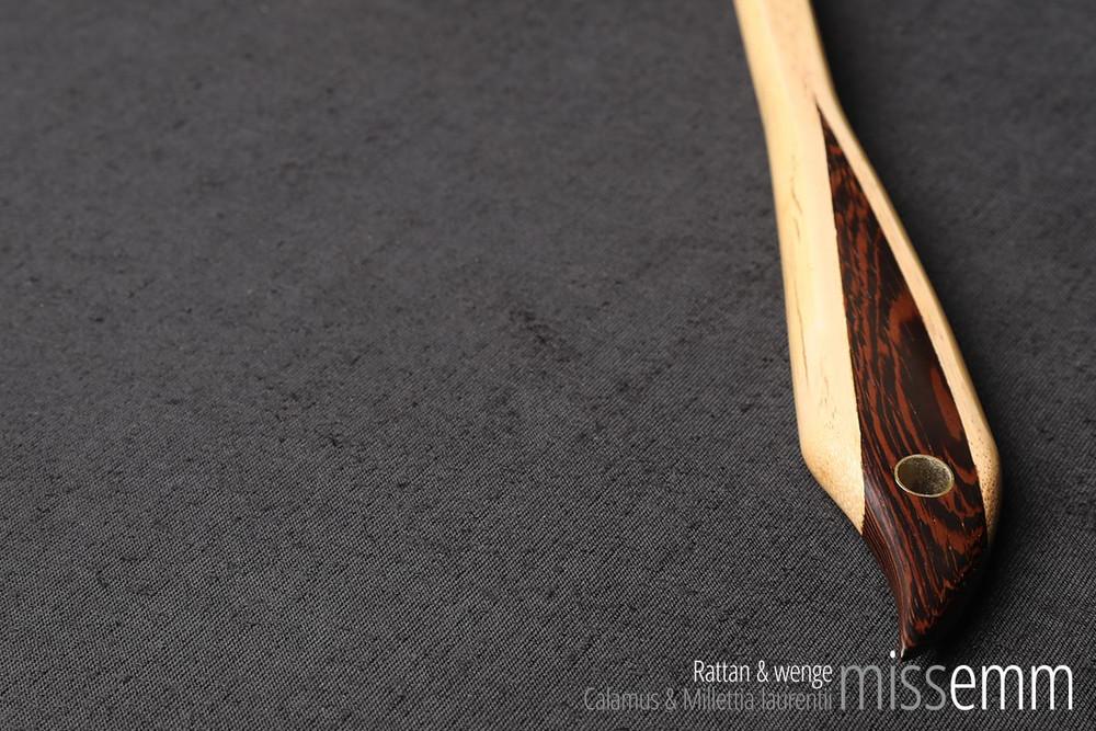 Unique kink BDSM toys | Rattan & wenge pane (flat cane) | By Australian kink artisan Miss Emm