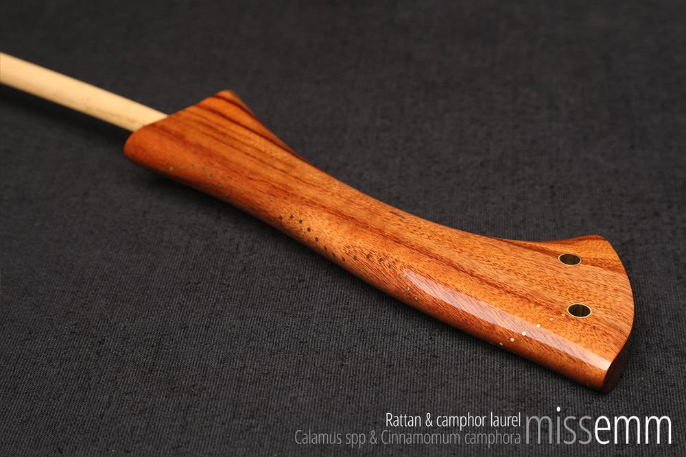 Handmade bdsm toys | Discipline Cane | By fetish artisan and cane maker Miss Emm.